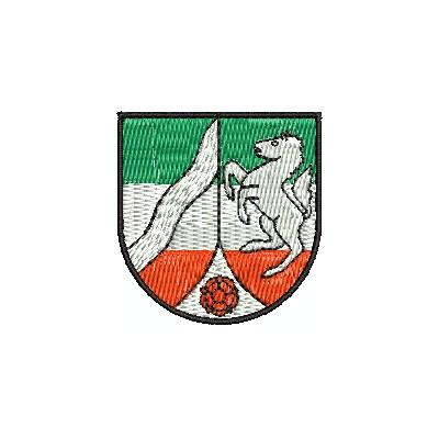 Wappen Nordrhein west. mini