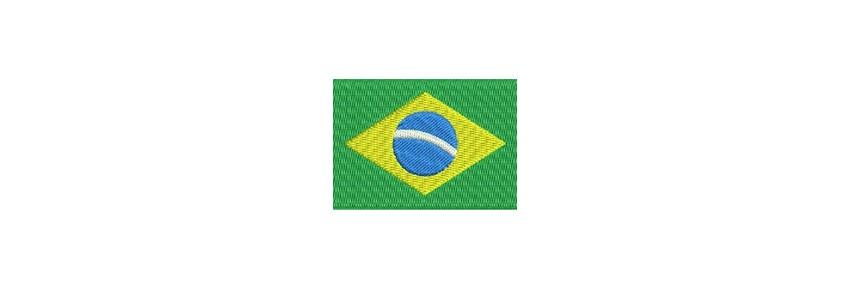 Flaggen Sud Amerika midi