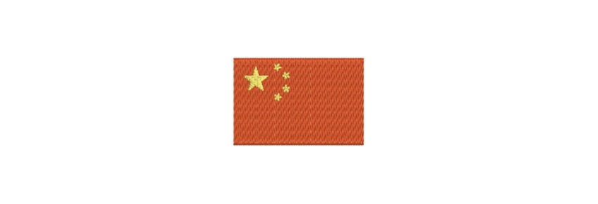 Flaggen Asien midi