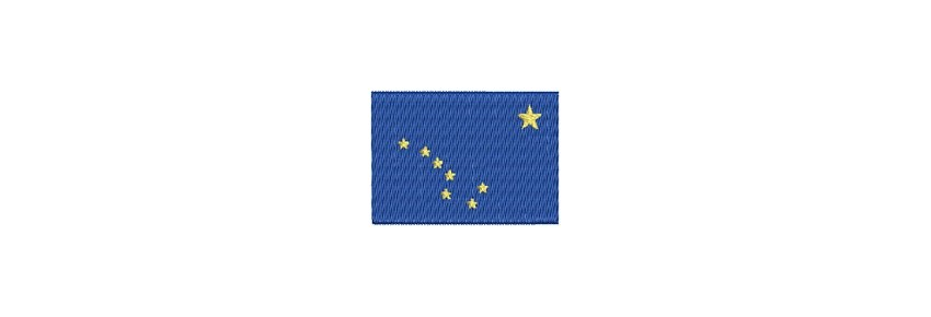 Flaggen Nord Amerika midi
