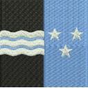 Flagge Aargau midi