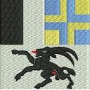 Flagge Graubünden midi
