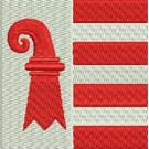 Flagge Jura midi