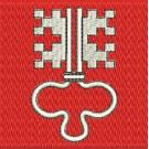 Flagge Nidwalden midi
