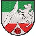 Wappen Nordrhein Westfalen midi