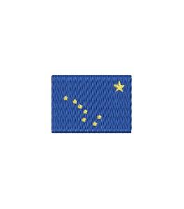 Flagge Alaska mini