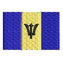 Flagge Barbados mini