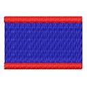 Flagge Belize mini