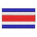 Flagge Costarica mini