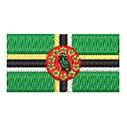 Flagge Dominice mini