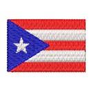 Flagge Puertorico mini