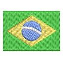 Flagge Brasilien mini