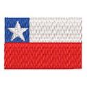 Flagge Chile mini