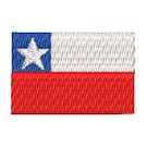 Flagge Chile mini