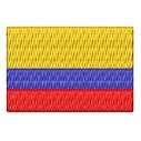 Flagge Kolumbien mini