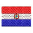 Flagge Paraguay mini