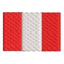 Flagge Peru mini