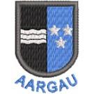 Wappen Aargau mini mit Name