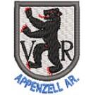 Wappen Appenzell Au. mini mit Name