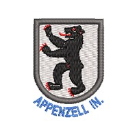 Wappen Appenzell In. mit Name