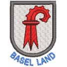 Wappen Basel Land mini mit Name