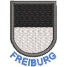 Wappen Freiburg mit Name