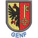 Wappen Genf mit Name