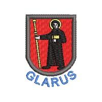 Wappen Glarus mit Name