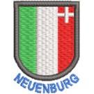 Wappen Neuenburg mit Name
