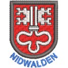 Wappen Nidwalden mit Name