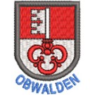 Wappen Obwalden mit Name