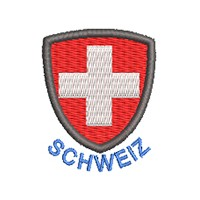 Wappen Schweiz mit Name