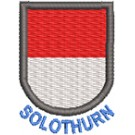 Wappen Solothurn mit Name