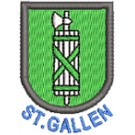 Wappen St. Gallen mit Name