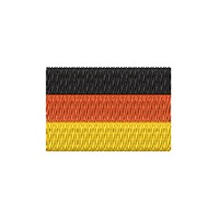 Flagge Deutschland mini