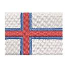 Flagge Faeroer Insel Mini