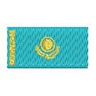 Flagge Kazakhstan mini