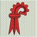 Flagge Basel Land midi