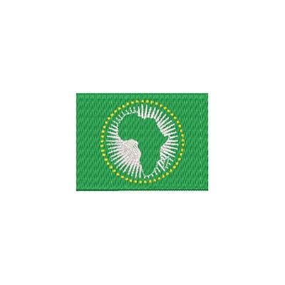 Flagge Afrika Union midi