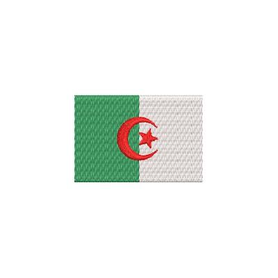 Flagge Algerien midi
