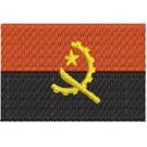 Flagge Angola midi