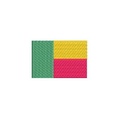 Flagge Benin midi