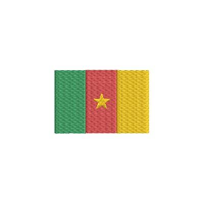 Flagge Cameroon midi