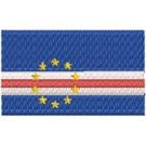 Flagge Cap Verde midi
