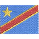 Flagge Republic Congo midi