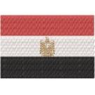 Flagge Egypt midi
