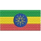 Flagge Ehtiopia midi