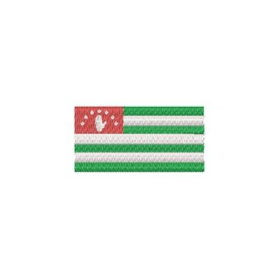 Flagge Abkhazia midi