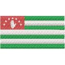 Flagge Abkhadia midi