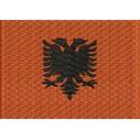 Flagge Albanien midi
